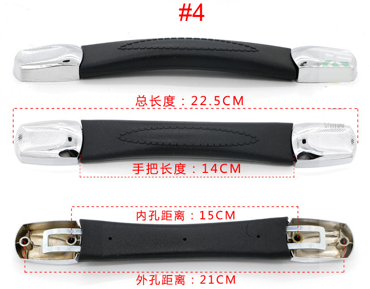 Top quality Luggage Handle Grip Spare Fix Holders Box Pull Carry Strap Luggage Repair Ac ...