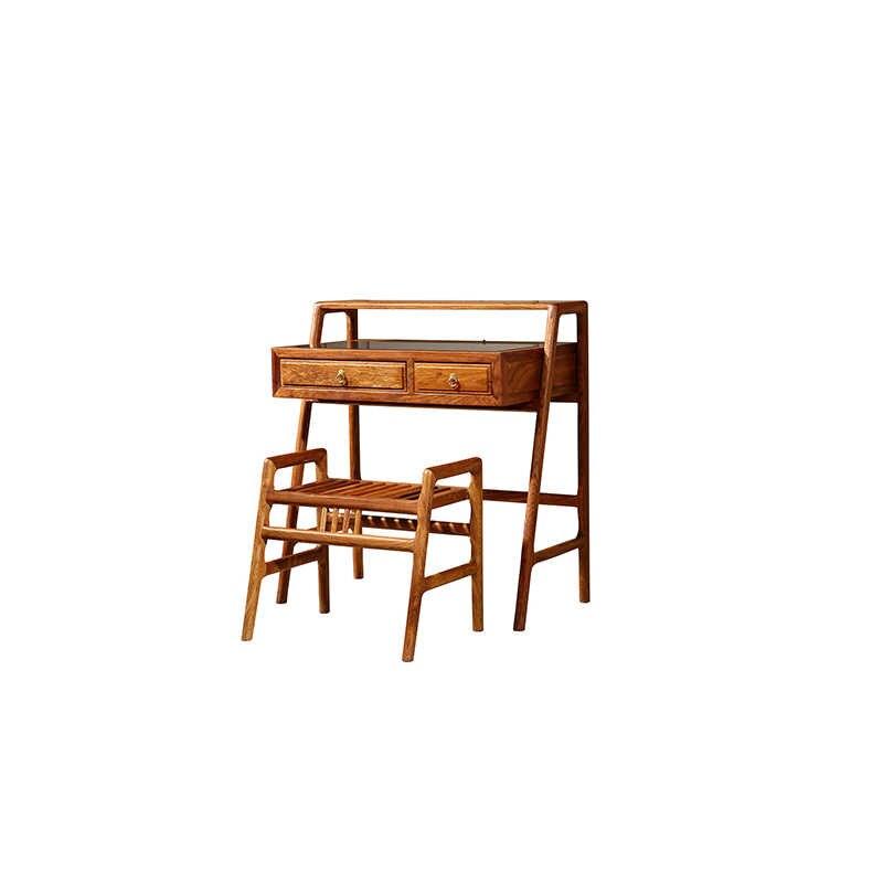Косметический туалетный столик и табурет набор мебель из красного дерева, ежик, палисандр 2 шт./компл.