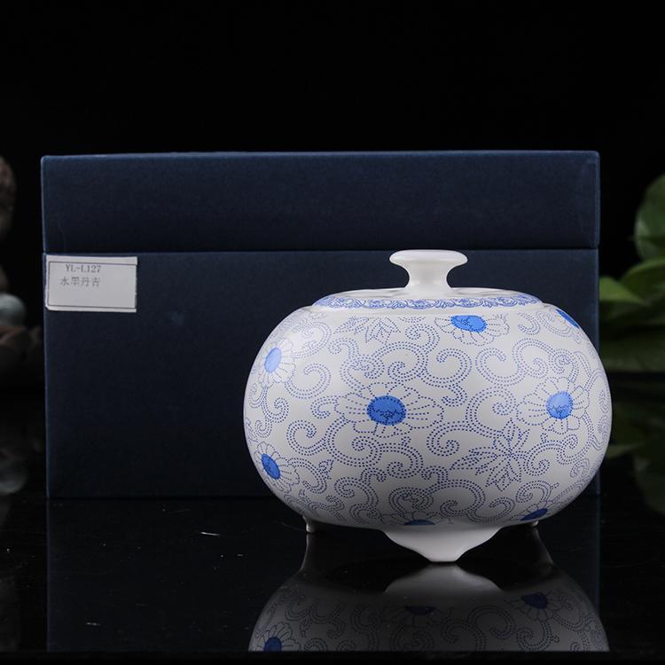 Portable clock thermostat electronic ceramic fragrance oil burner of sandalwood incense furnace