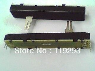 [ bella ]8.8 cm away Rail Slide Potentiometer B100K * 2 20 large split shaft--10pcs/lot