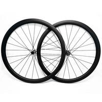 carbon road disc wheels 700c 50mmx25mm tubeless D411SB/D412SB 100x12 142x12 carbon road bike disc wheels CN424|Bicycle Wheel|   -