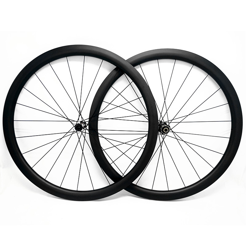 carbon road disc wheels 700c 50mmx25mm tubeless D411SB/D412SB 100x12 142x12 carbon road bike disc wheels CN424