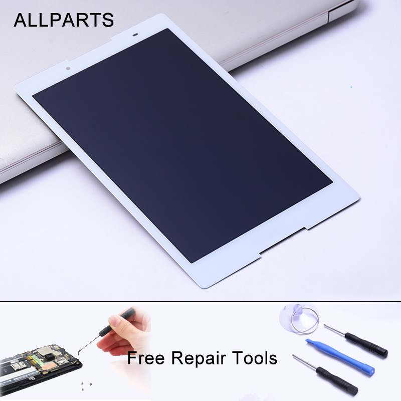 Allparts Tested 8'' Display For Lenovo A8-50 LCDwith Touch Screen Digiziter Assembly For Lenovo A8-50 LCD A5500 A5500F A5500-H lcd display screen replacement for lenovo a8 50 a5500 a5500 hv tablet pc
