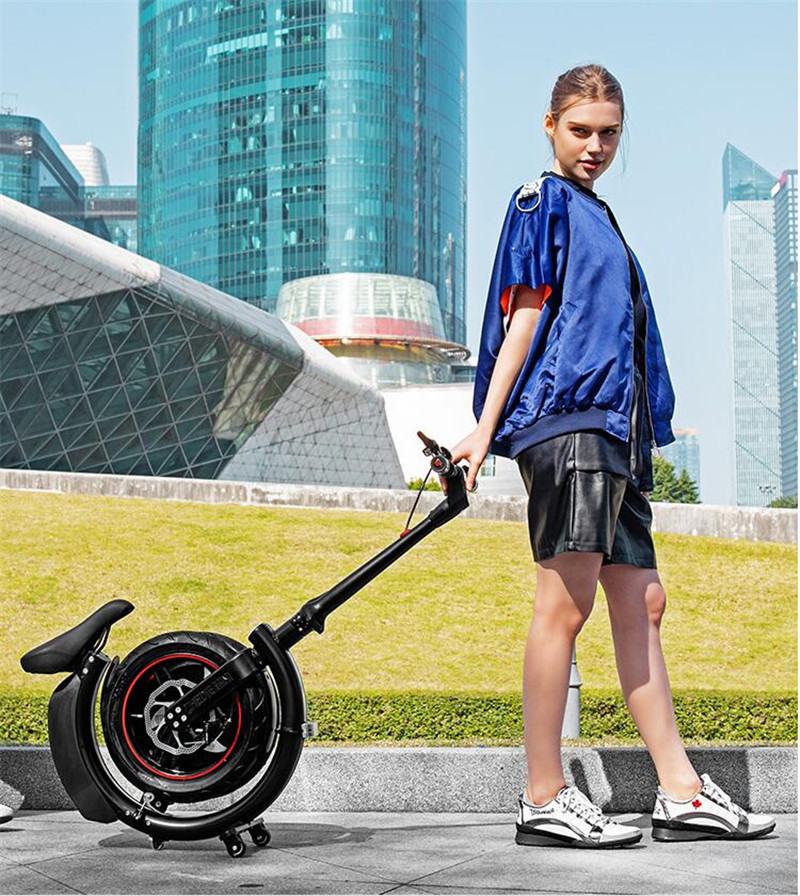 Polegada 14 Daibot Mini Bicicleta Elétrica Duas Rodas de Bicicleta Elétrica 500W 36V 30 KMH Dobrável Portátil Adultos Elétrico bicicleta da bicicleta Da Bicicleta