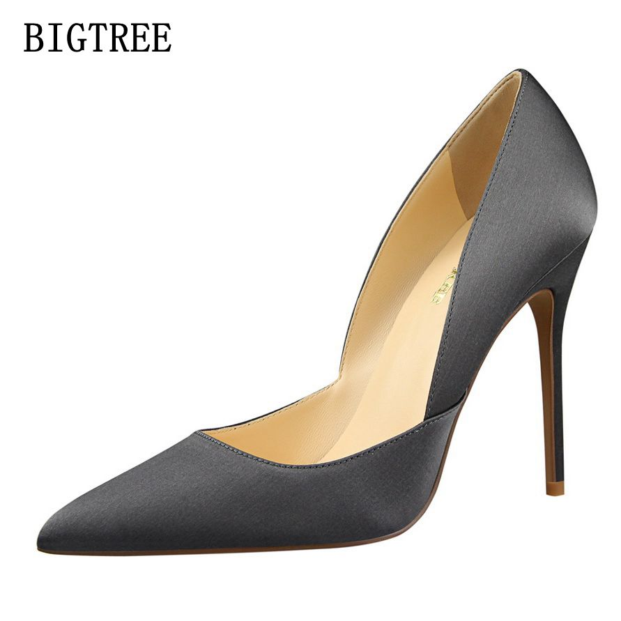 New Spring Autumn Woman High Heels Pumps Red High Heels 11CM Women Shoes Fashion Sexy Wedding Party Shoes Lady Pointed Toe Shoes free shipping 2016 spring autumn new increased internal woman shoes elastic band med heels pumps black red white woman shoes