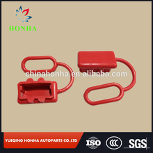 Black dust rubber cover boot for SMH 50A connector