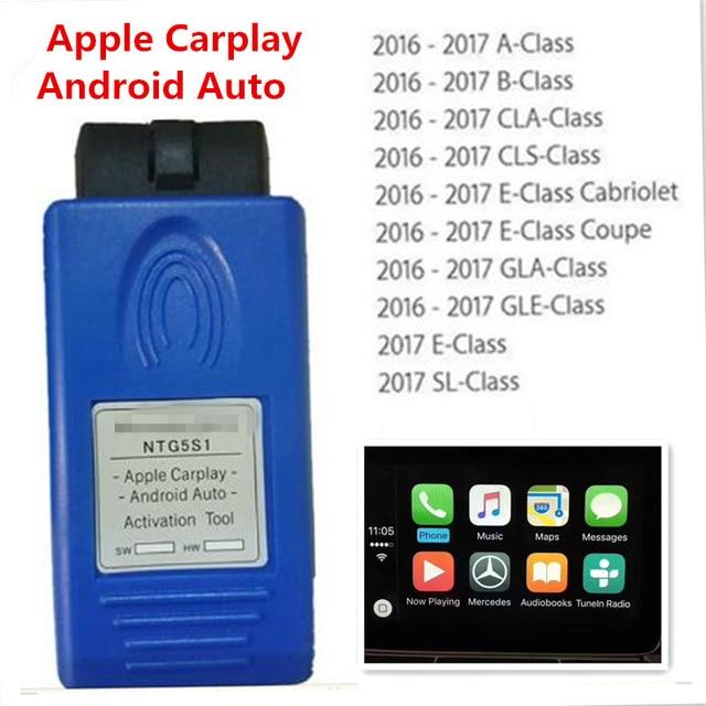 Pour Apple CarPlay et Android outil d'activation automatique pour NTG5 S1 mise à jour par mise à jour par MB STAR C4 ou sd C5 xentrée