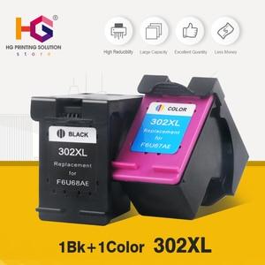 QSYRAINBOW 1BK + 1CL Замена для HP 302 XL для hp 302 302XL чернильный картридж для HP DeskJet 1110 2130 NS45 для HP Officejet 3630