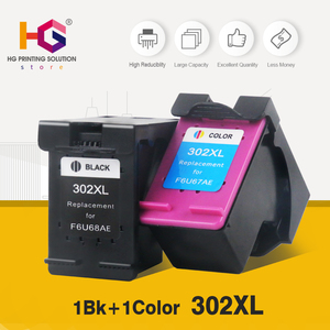 Image 2 - QSYRAINBOW Remanufactured Cartridge Replacement for HP 302 HP302XL Ink Cartridge for Deskjet 1112 2130 2131 1110 1111  printer