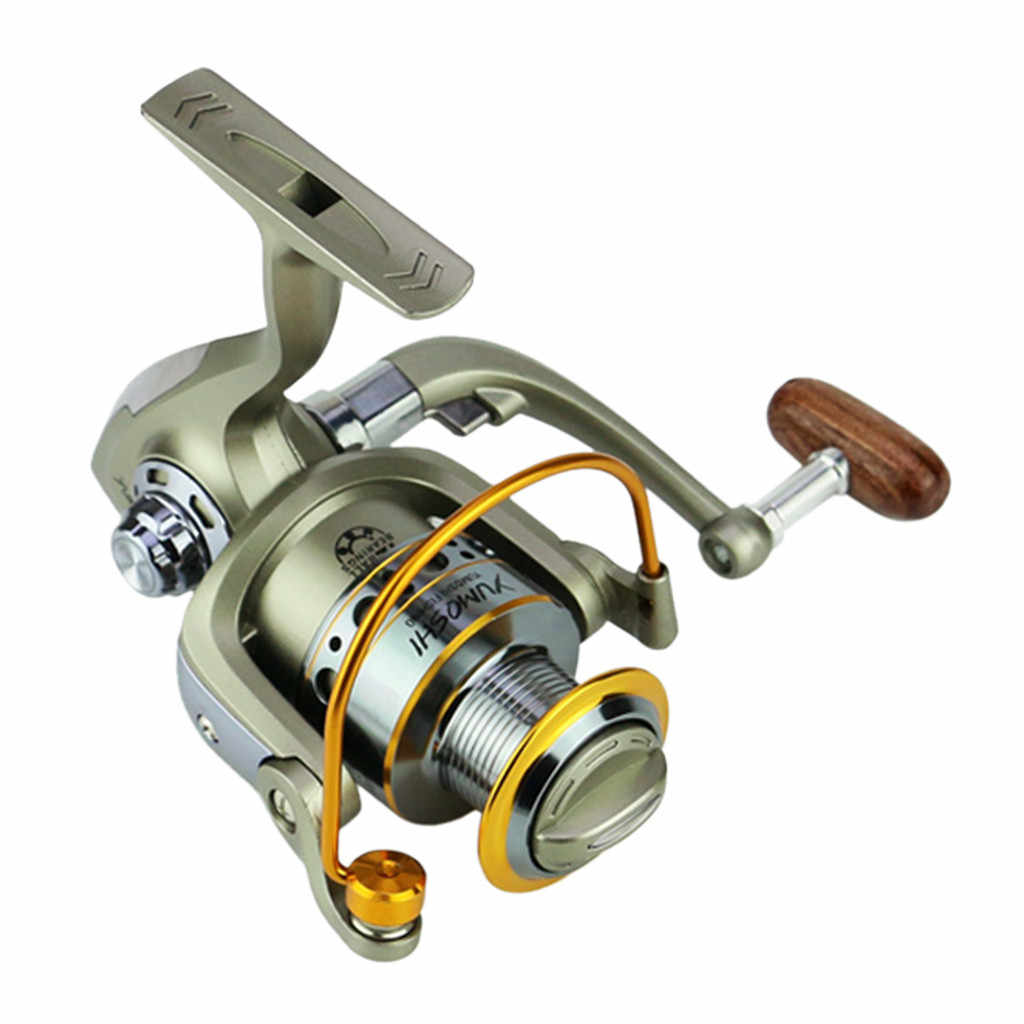 Carretilha الصيد عجلة عجلات الأسماك الغزل بكرة 5.5: 1Carretilhas Pescaria Molinete LC1000-7000series катушка рыболовная