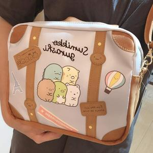 Image 2 - IVYYE 1PCS Sumikko gurashi Fashion Anime PU Shoulder Bags Soft Tote Messenger Handbag Casual Bag Lady Girls New