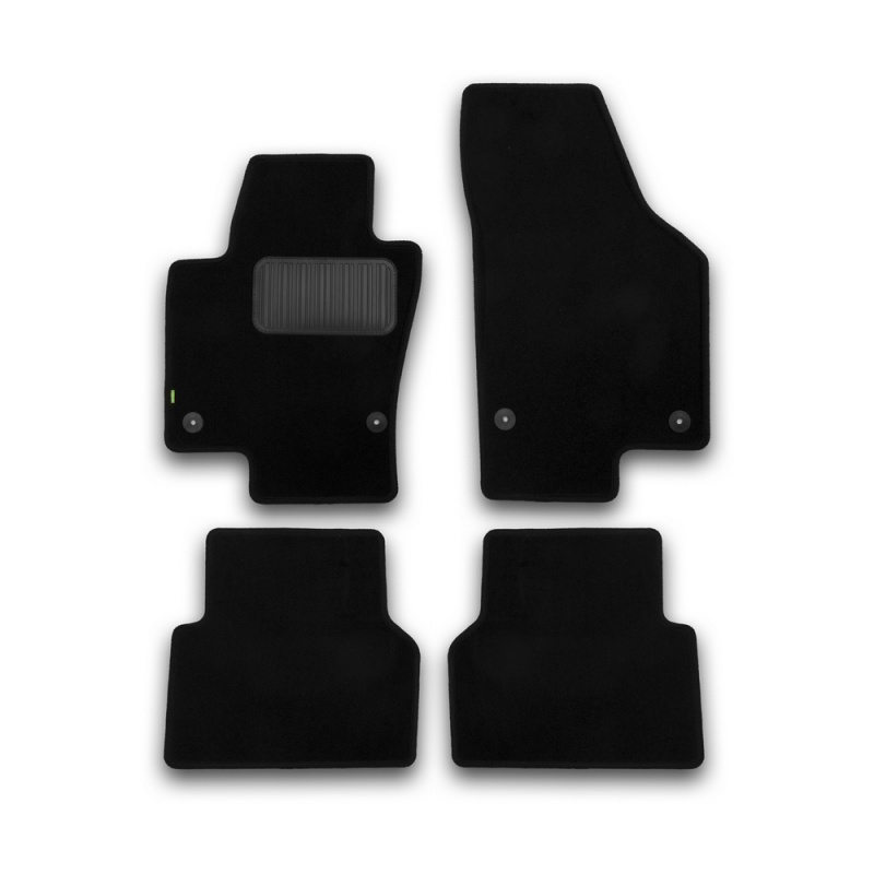 For Volkswagen Tiguan 2007-2016 floor mats rugs non slip dirt protection interior car styling accessories все цены