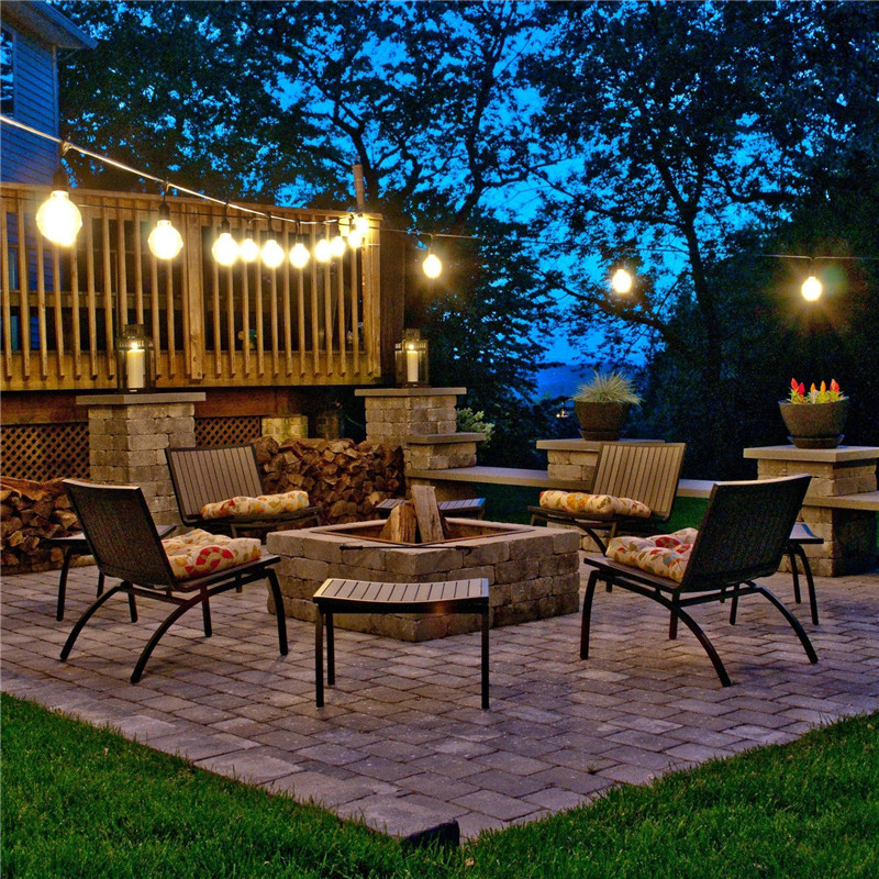 outdoor table lighting ideas. 144m 15e27 sokcet with 18pcs s14 11w bulb saa ul etl approval excellent outdoor string table lighting ideas