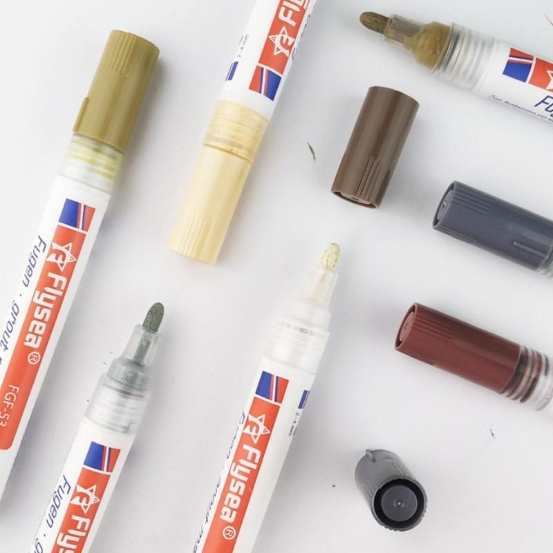 1PC  Pen Waterproof Mouldproof Filling Agents Wall Shower Bathroom Tile Gap Repair Color Pen White Tile Refill Grout