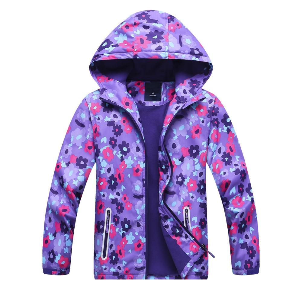 922623c0d Teenager Boys Girls Polar Fleece Jacket Kids Hoodies Raincoat ...