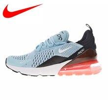 separation shoes caf68 3f211 Originele Nike Air Max 270 vrouwen Loopschoenen, Licht Blauw & Rood,  schokabsorberende Ademend Lichtgewicht Antislip AH6789 400