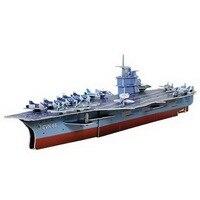 Educational 3D Model Puzzle Jigsaw USS Nimitz DIY Toy 70 PCS Set