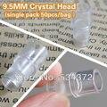 9.5MM 50pcs Free Shipping Import Permanent Makeup Pen Plastic Disposable Tubes