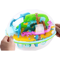 3D Ball Maze Puzzle Labyrinth Magic Intellect Maze Ball Perplexus Intelligence Educational Games for Children Toys 299 Steps