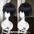 Free Shipping Marshall Lee High Quality 32cm Short Stylish Black Hair Wigs Adventure Time Anime Cosplay Wig + A Wig Cap