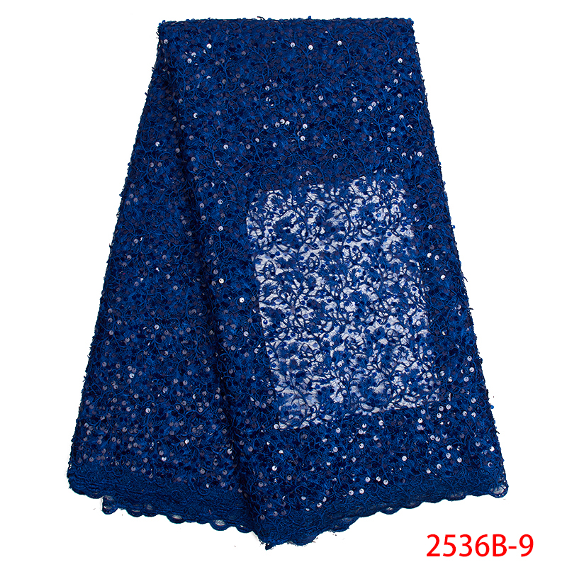 Hot Sale Popuplar Nigerian Lace Fabric 2019 High Quality Lace Trim African French Lace Fabric For