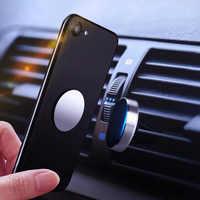 Support pour téléphone de voiture 360 support de support de prise d'air magnétique pour Skoda Octavia 2 A7 A5 Rapid superbe Mazda 6 Chevrolet Cruze