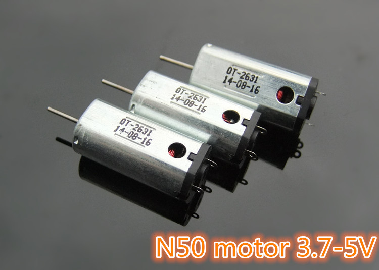 K820 N50 Ferromagnetism Micro DC3.7-5V motor Hi-speed Large Torque with Heat Emission Hole DIY Parts Free Shipping Russia