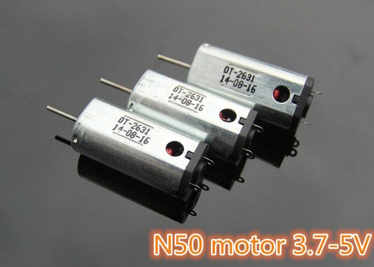 K820 N50 Ferromagnetismus Micro DC3.7-5V motor Hallo-speed Großen Drehmoment mit Wärmeabgabe Loch DIY Teile Freies Verschiffen Russland