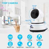 Hiseeu HSY FH2E HD 720P 1 4 CMOS Surveillance Camera WiFi IR Rotary Head Motion Detection