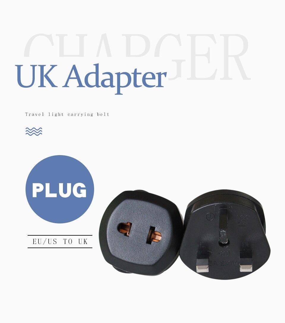 1 PC UK Adapter Travel Wall Power Plug Charger Adaptors Converter Connector uk Plug 3 Pin Socket Singapore Maldives Malaysia (1)