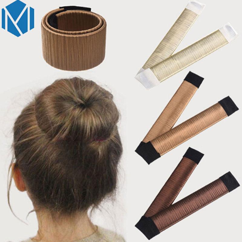 Haar-accessoires M Mism 15 Cm/5,9 Inch Magie Haar Styling Multi Funktion Haar Donut Haar Zubehör Französisch Twist Magie Diy Werkzeug Brötchen Haar Maker Kind