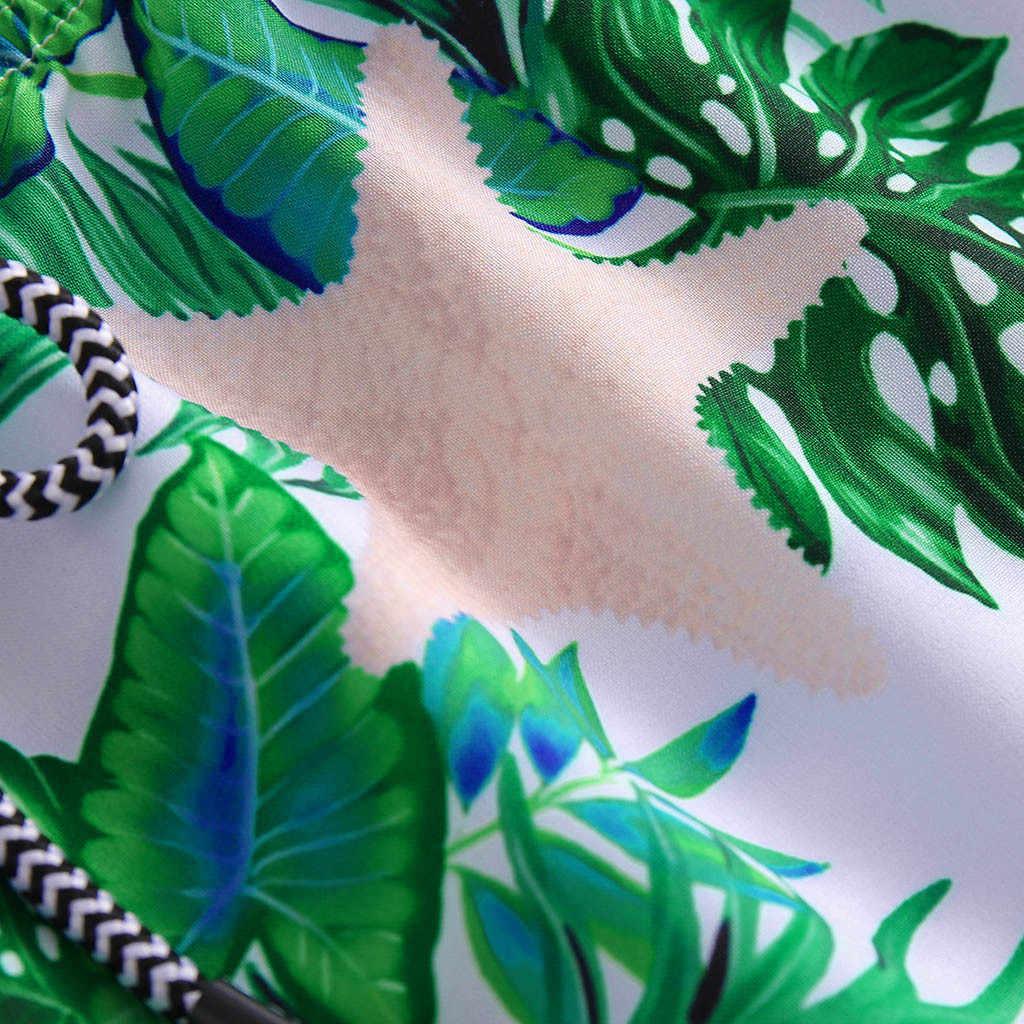 ملابس السباحة السباحة السراويل طباعة السراويل أسفل زائد حجم الصيف الاستحمام دعوى الأزياء Tankini النساء ملابس السباحة عالية الخصر الشاطئ ارتداء # ثور