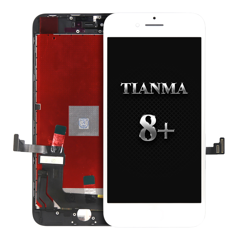 For Tianma quality for iphone 8 plus LCD Display Good work Touch Screen Assembly Replacement for