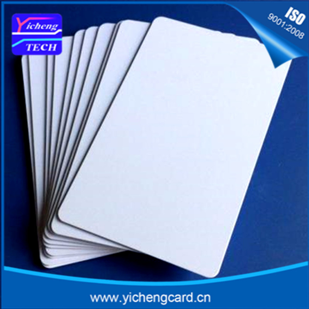цена на 100pcs standard blank card size iso18000-6c tag 860 960mhz long distance passive rfid uhf gen2 tag EPC Class1 uhf rfid card
