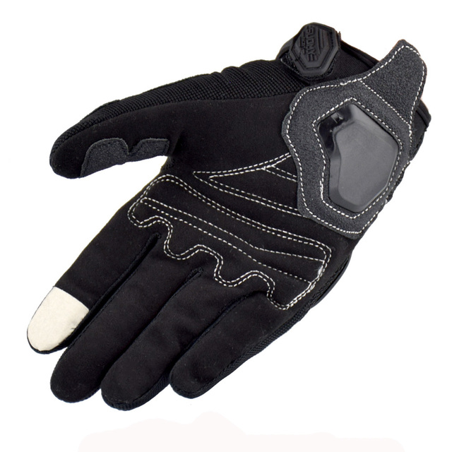 SUOMY Summer Breathable Motorcycle Gloves Touch Screen Guantes Motorbike Protective Gloves Cycling Racing Full Finger Gloves 4