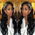 Visón 7a brasileño de la virgen del pelo onda del cuerpo 4 bundles bodywave brasileña carina hair products brasileño de la virgen del pelo armadura del pelo humano