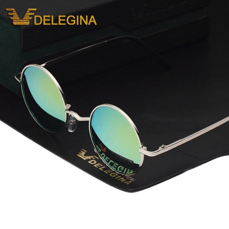 Lente Polarizada Óculos De Sol Pequeno círculo do vintage Unisex Rodada  Sunglases Condução Tons Polar em Óculos de sol de Acessórios de vestuário  no ... 5431c135fe