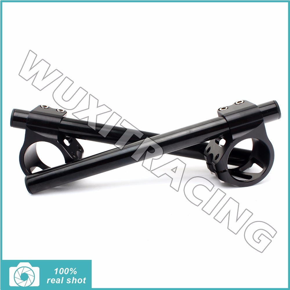 7/8 39mm New Universal CNC Billet Adjustable Clip On Clip-Ons Handlebars Handle Bars fit for 39mm Fork Tube Adjustable 7 8 41mm cnc billet motorcycle clip on