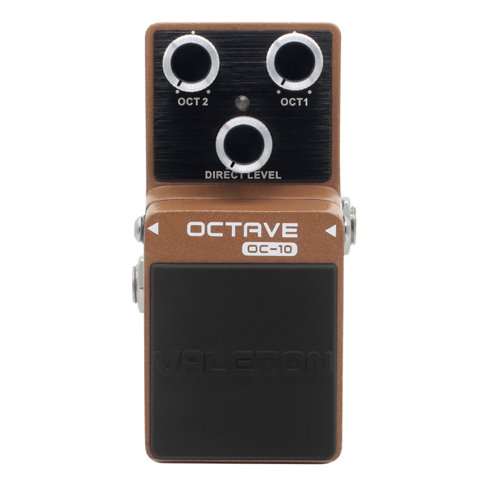 Valeton Analog Octave Electric Guitar Effect pedal OC-10 OC 10 octave uzanne canaletto
