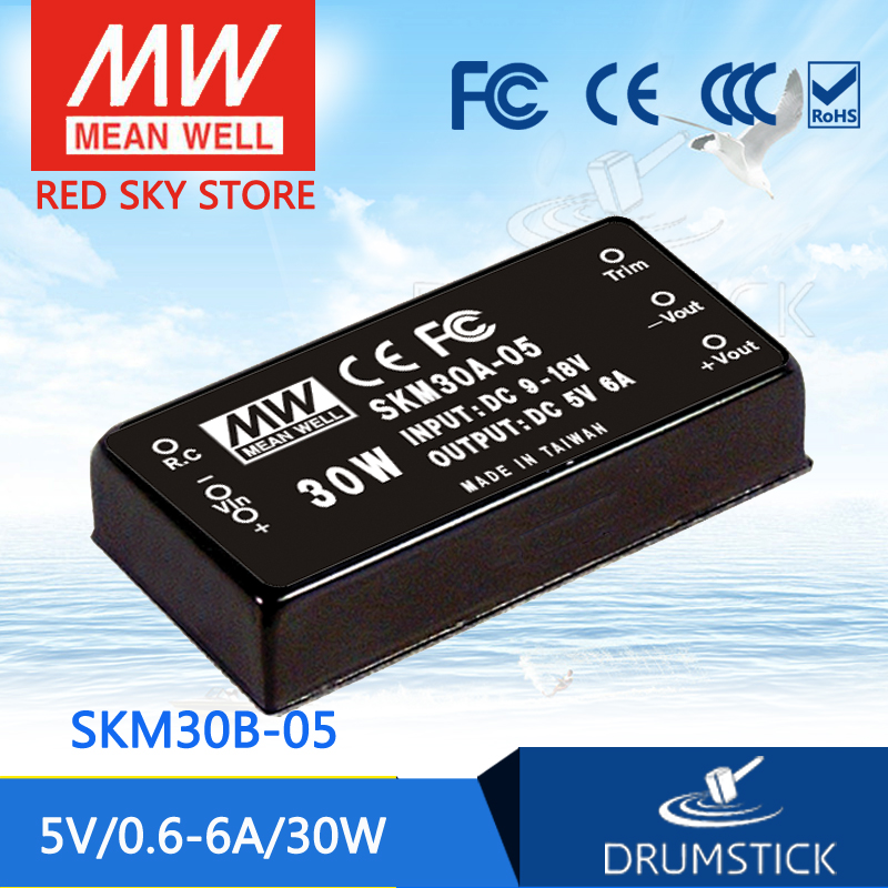 цена на MEAN WELL SKM30B-05 5V 6A meanwell SKM30 5V 30W DC-DC Regulated Single Output Converter