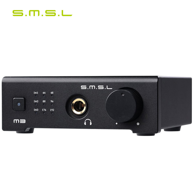 SMSL M3 USB Optical fiber Coaxial Function Hi Fi Audio Decoder All in one Amp