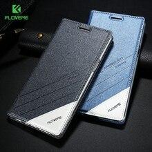 Floveme для Samsung Galaxy S7 S7 край S6 Edge Plus S5 случае роскошный Флип кожаный чехол для iPhone 7 плюс 6 6S плюс 5 5S случаях