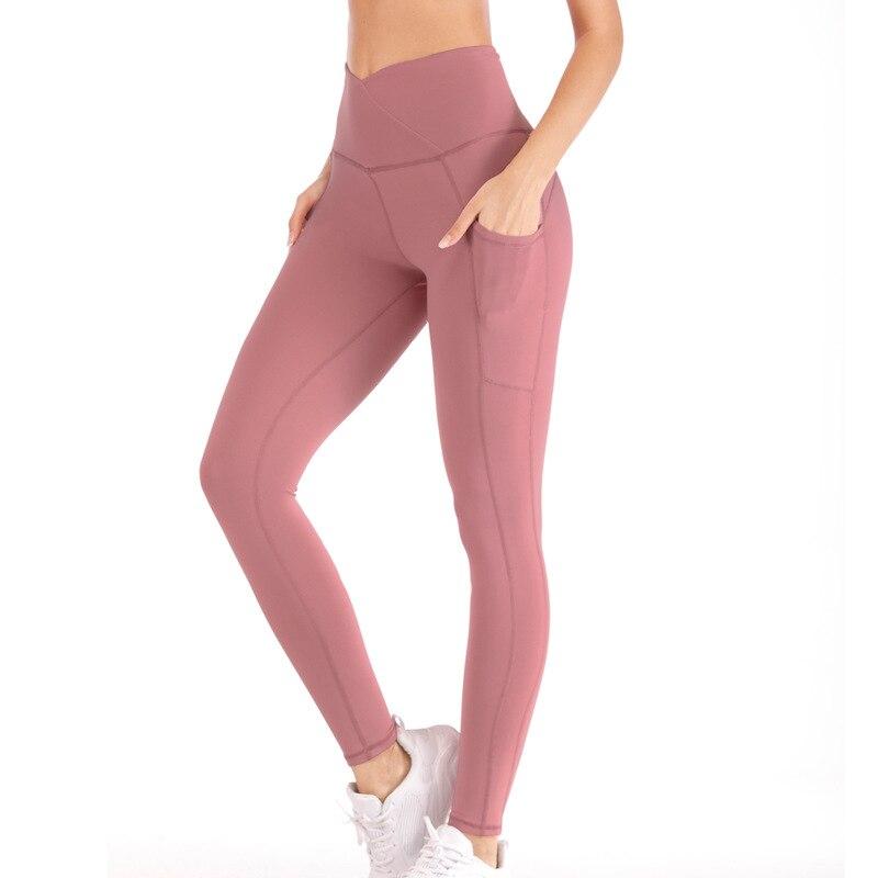 véritable modèle unique 100% de qualité supérieure 2019 Yoga Pants Women Leggings Sport Pocket Yoga Leggings Pants Running  Trousers Tights Gym Training Legging Sport Femme Fitness