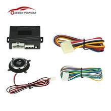 Автомобильный двигатель, кнопка пуска, кнопка остановки, автоматическое зажигание, дистанционный стартер для Toyota Ford Peugeot 307 Mercedes Volkswagen Mazda 3 Passat B6