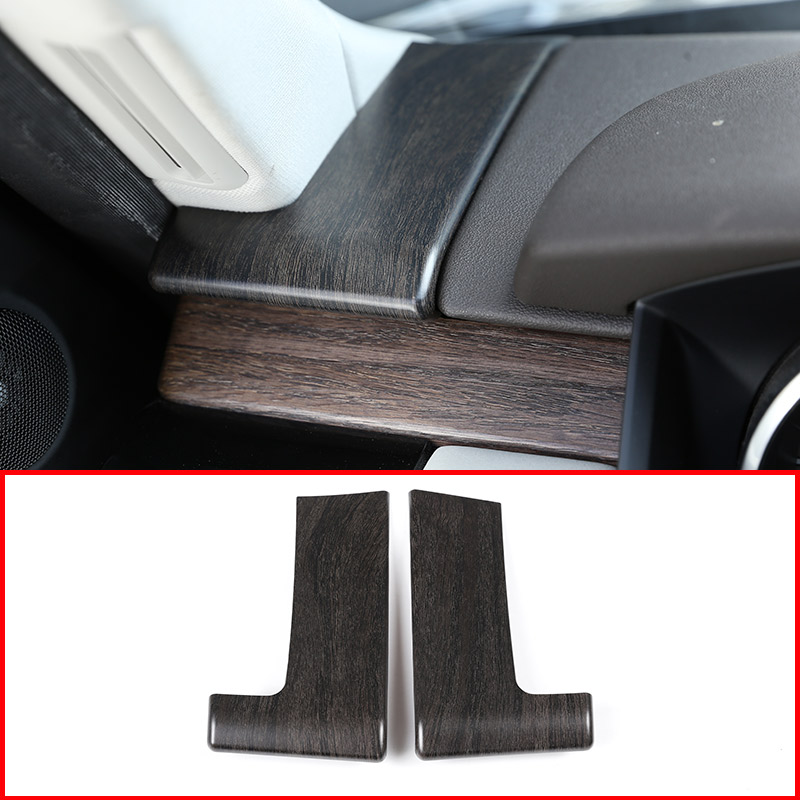Oak Ash Wood For Land Rover Discovery 5 L462 LR5 2017-18 ABS Plastic Dashboard Decoration Cover Trim For Range Rover sport 2018 inner car door moulding trim cover for land rover l462 discovery 5 2017 2018 4pcs