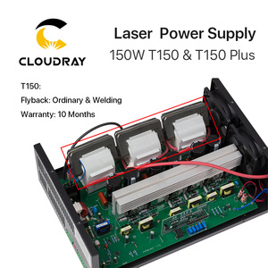 Image 2 - Cloudray 150W CO2 Laser Power Supply for CO2 Laser Engraving Cutting Machine HY T150 T / W Plus Series with Long Warranty