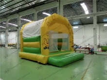 smile face party jumper bouncer for kids Inflatable bouncer with air blower