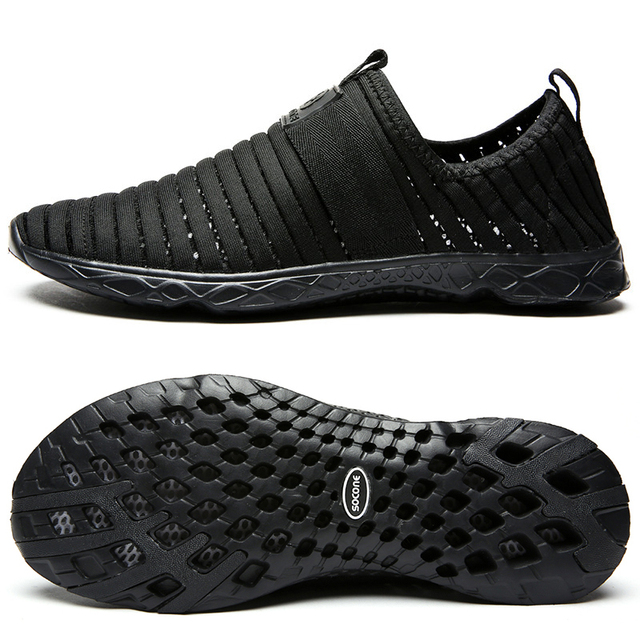 Men's Women's Mesh Slip-on Athletic Water Shoes Lightweight Walking Shoes