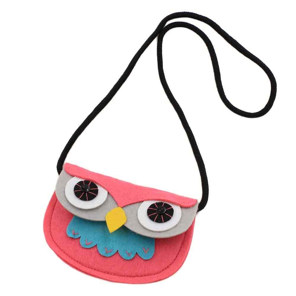 Nette Baby Mädchen Eule Fashion Handbags Nette Aufbewahrungstasche Kinder Einzelnen Schulter Crossbody Beutel Für Kinder Kupplung Hohe Qualität