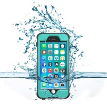 Impactstrong Waterproof Case for iPhone 6 [Fingerprint ID Compatible] Slim Full Body Protection Cover 6/6s
